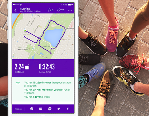 Conclude your runs, walks, and more with insights on your activity metrics and help you keep a closer eye on your fitness improvements.