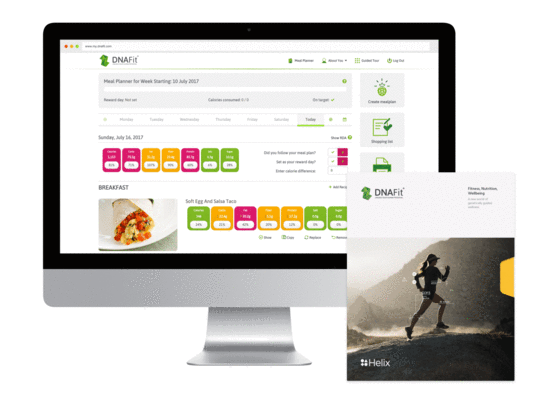 Create personalized meal plans with in-depth recipe guides to match your DNA, goals, and dietary preferences.