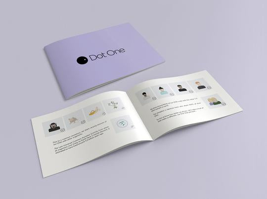 The illustrated booklet is a simple and fun way to learn about DNA sequencing. It also gives you insights into the information visualized in your Personalized Print.