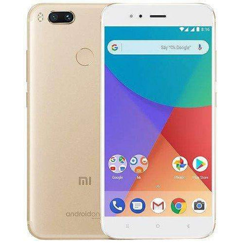 Xiaomi Mi A1 Dual Sim - 64GB, 4GB RAM, 4G LTE, Gold - International Version