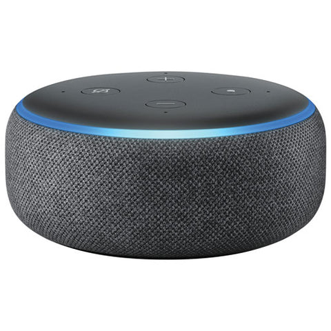 Amazon - Echo Dot 3rd Generation - Smart Speaker with Alexa, Charcoal