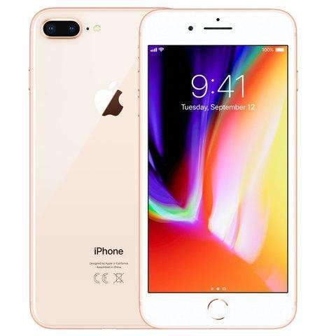 iPhone 8 Plus With FaceTime  256 GB 4G LTE - Gold