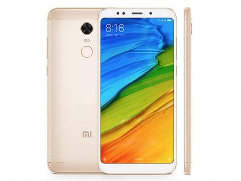 Xiaomi Redmi 5 Plus Dual SIM -32GB, 3GB RAM, 4G LTE, Gold - 1 Year Damage Protection Warranty
