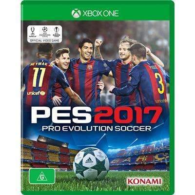 XBOX One Game PES-2017 Pro Evolution Soccer