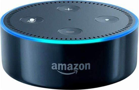 Amazon - Echo Dot 2nd Generation - Smart Speaker with Alexa, Black