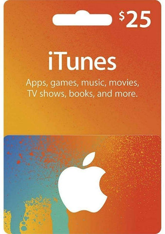 Apple iTunes Card $25