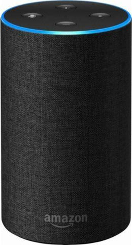 Amazon - Echo 2nd Generation - Smart Speaker,Black