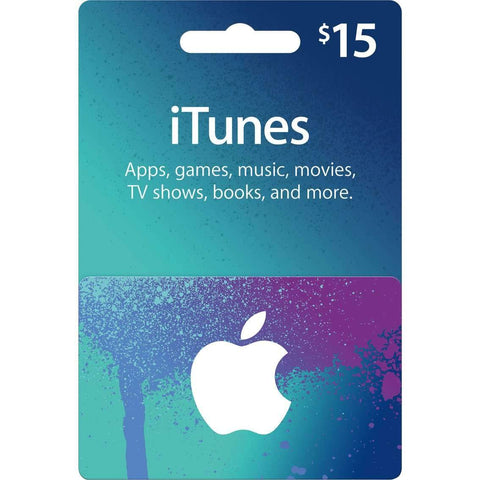 Apple iTunes Card $15