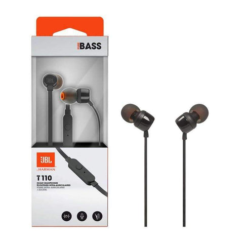 JBL T110 Wired in-ear Headphones