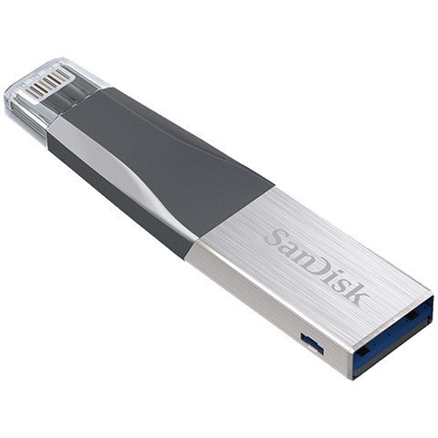 SanDisk iXpand Mini 64GB USB Flash Drive for iPhone/iPad/PC