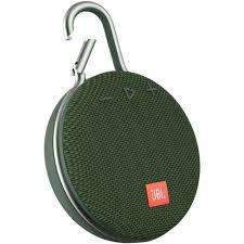 JBL  Clip 3 Portable Bluetooth Speaker -Playtime Green