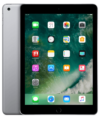 iPad 5 with Face Time - 9.7 Inch, 128GB, WiFi, Grey
