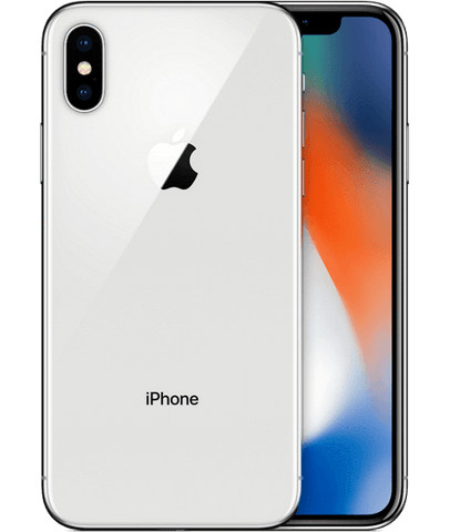 iPhone X 256 GB WithOut FaceTime 4G LTE (TRA) -Silver