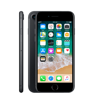 iPhone 7 With Face Time 32GB  4G LTE,Black