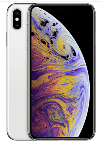 iPhone Xs Max Dual Sim  With FaceTime 64GB 4G LTE, Silver