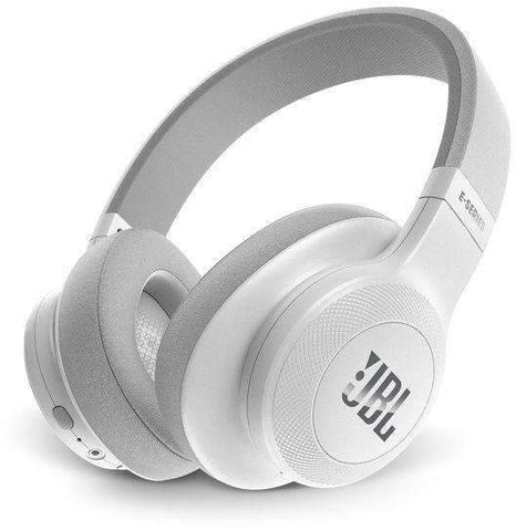 JBL On-Ear Bluetooth Headphones, White - E55BT