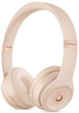 Beats Solo3 Wireless On-Ear Headphone - Matte Gold