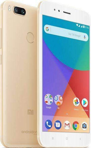 Xiaomi Mi A1 Dual Sim - 32GB, 4GB RAM, 4G LTE, Gold - International Version