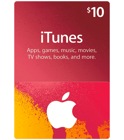 Apple iTunes Card $10
