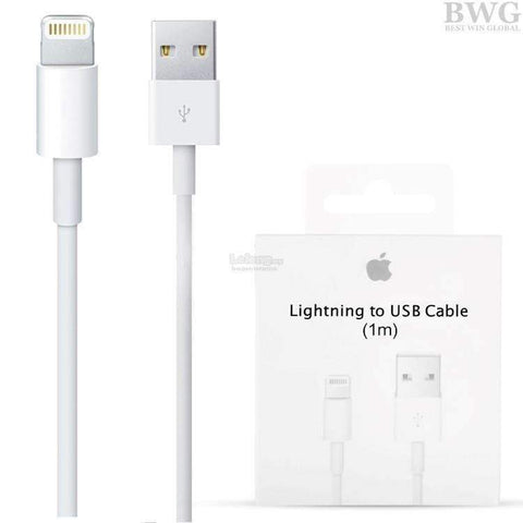 Apple Lightning to USB Cable  1 meter MD 818 AM/A