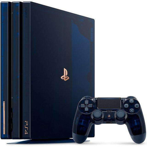 Sony PlayStation 4 Pro 2TB 500 Million Limited Edition Console Bundle