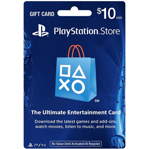 Sony PlayStation Network Card - $10