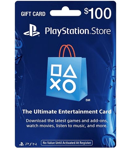 Sony PlayStation Network Card - $100
