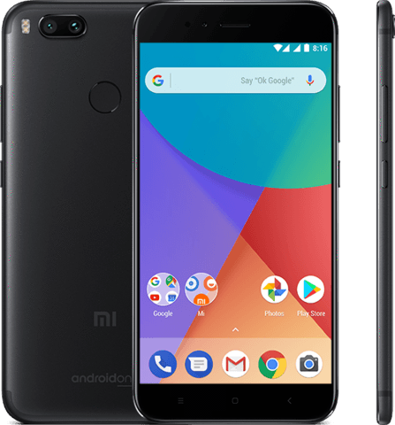 Xiaomi Mi A1 Dual Sim - 32GB, 4GB RAM, 4G LTE, Black - International Version