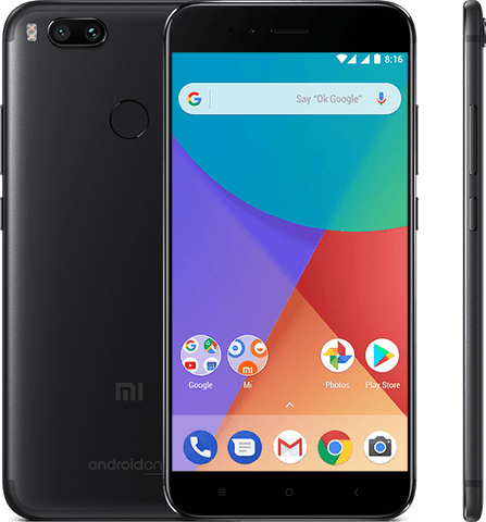 Xiaomi Mi A1 Dual Sim - 64GB, 4GB RAM, 4G LTE, Black - International Version
