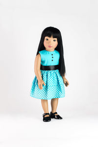 "Asian American Girl Doll, Shop Wishing Star 18"" Inch Starpath Doll USA"