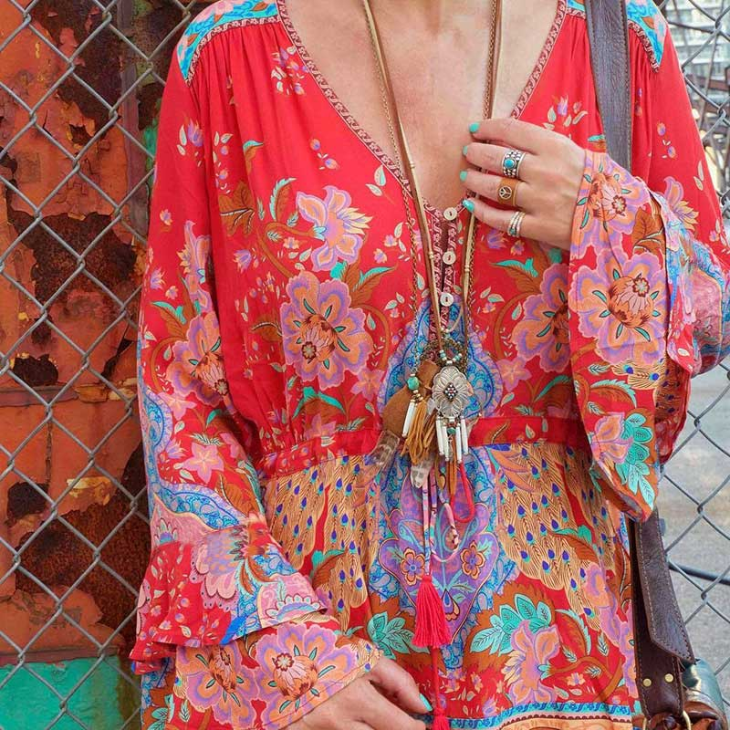 Bohemian Chic Floral