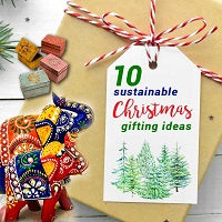 10 Sustainable Christmas Gifting Ideas