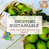 Is shopping sustainably really important to saving the planet ?