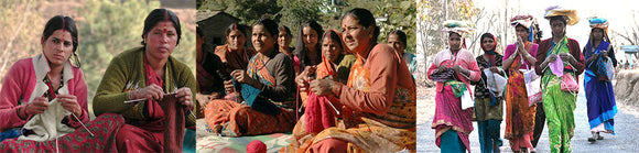 working with women, Fairtrade, empowering women, handmade, knits, Himalayas, Grassroots Development , community projects, employment