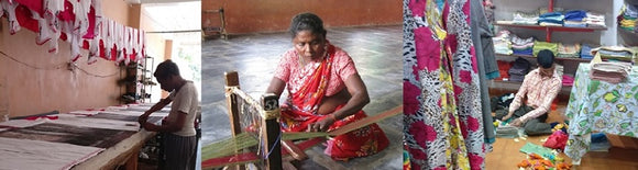 working with women, Fairtrade, empowering women, handmade, disabled, block printing, knits, handicapped, Grassroots Development , community projects, employment, social enterprise