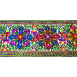 Embroidered Table Runner - Multicolour, Runner,- Boho Homes