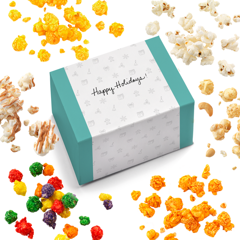 Double Good Popcorn Gift Boxes