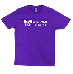 Wingman for Dance T Shirt: Unisex Adult