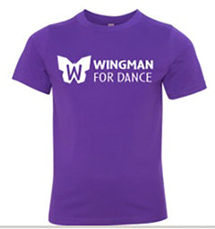 Wingman for Dance T Shirt: Youth