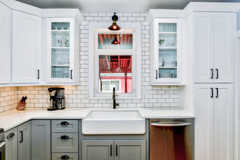 Wood and white kitchen evos boutiques