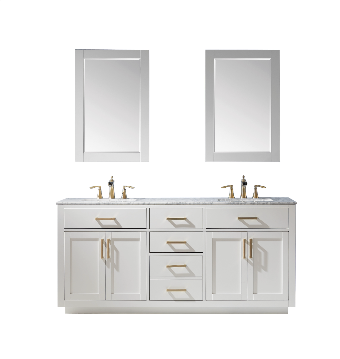 Vanity Cole 60 inches White