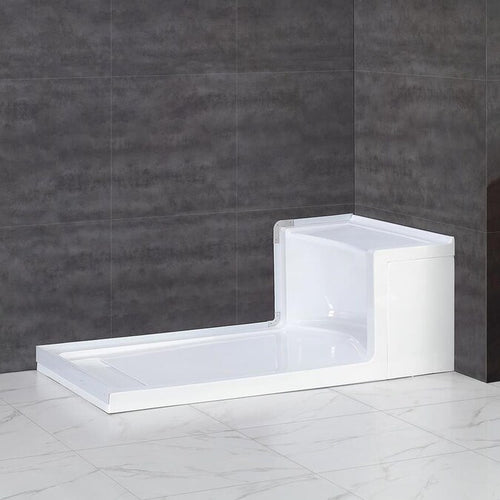 Monterey Shower w/ Bench Base 60x32 - OVERSTOCK SPECIAL