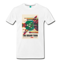 Visions of the Future: The Grand Tour Premium T-Shirt - white