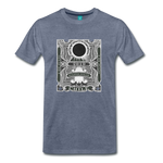 2019 Eclipse in Chile Men's Premium T-Shirt - heather blue
