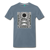 2019 Eclipse in Chile Men's Premium T-Shirt - steel blue