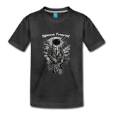 Space Travel Astronaut Kids' Premium T-Shirt - charcoal gray