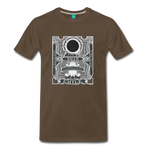 2019 Eclipse in Chile Men's Premium T-Shirt - noble brown