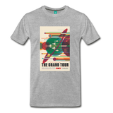 Visions of the Future: The Grand Tour Premium T-Shirt - heather gray