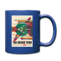 The Grand Tour Classic Coffee Mug - royal blue