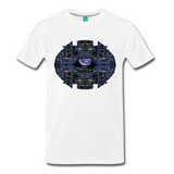 Apollo Instrument Panel Abstract Premium T-Shirt - white